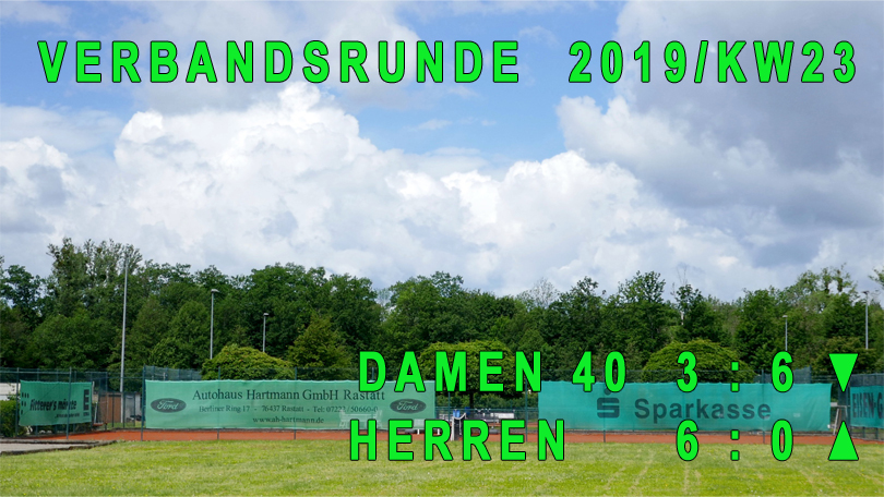 Verbandsrunde 2019/KW23