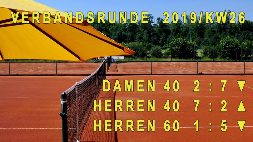 Verbandsrunde 2019/KW26
