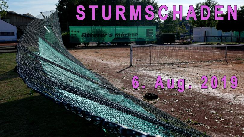 STURMSCHADEN 2019-08-06
