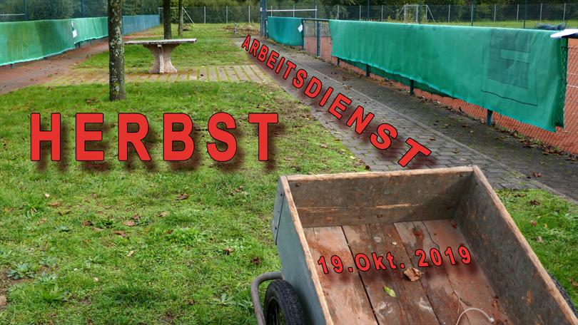 HERBST- ARBEITSDIENST 2019