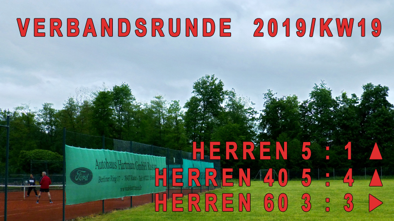 Verbandsrunde 2019/KW19