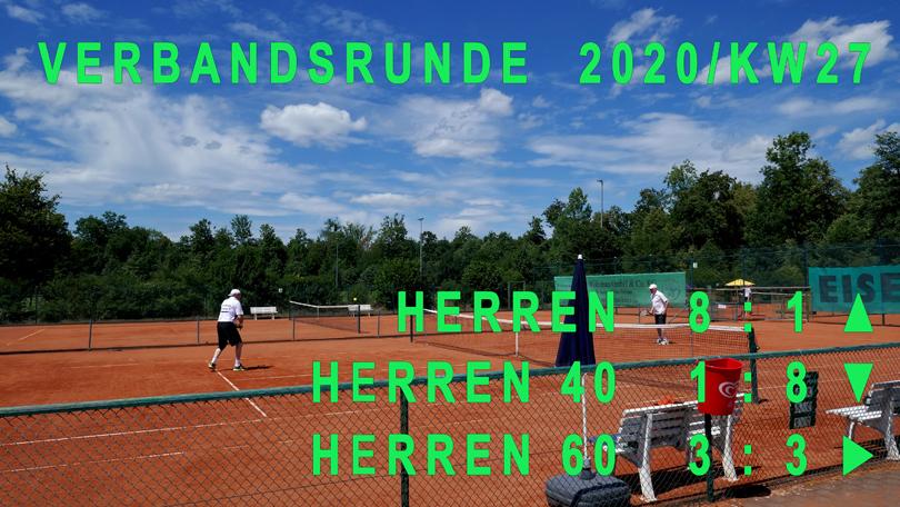 Verbandsrunde 2020/KW27