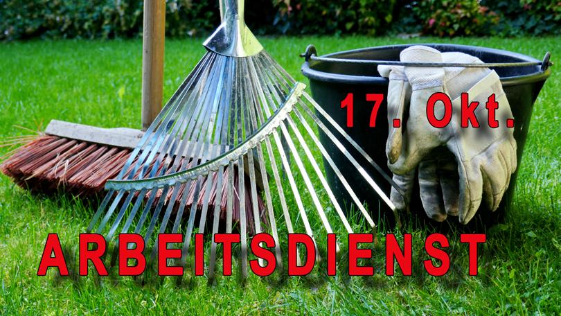 HERBST- ARBEITSDIENST 2020