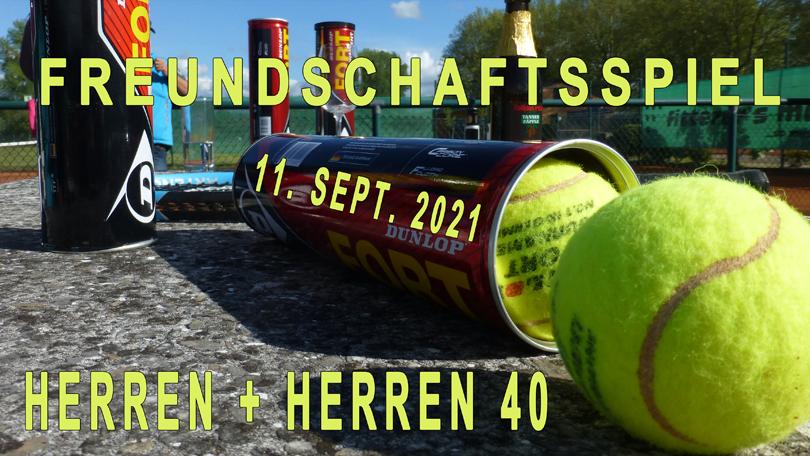 FREUNDSCHAFTSSPIEL HERREN+HERREN40