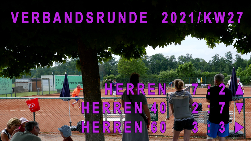 Verbandsrunde 2021/KW27