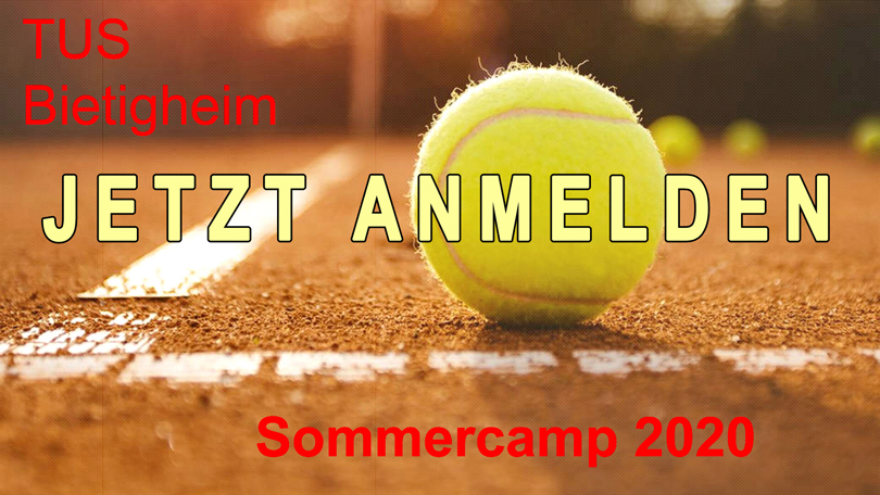 Sommercamp mit den Bambinis und der Tennisjugend