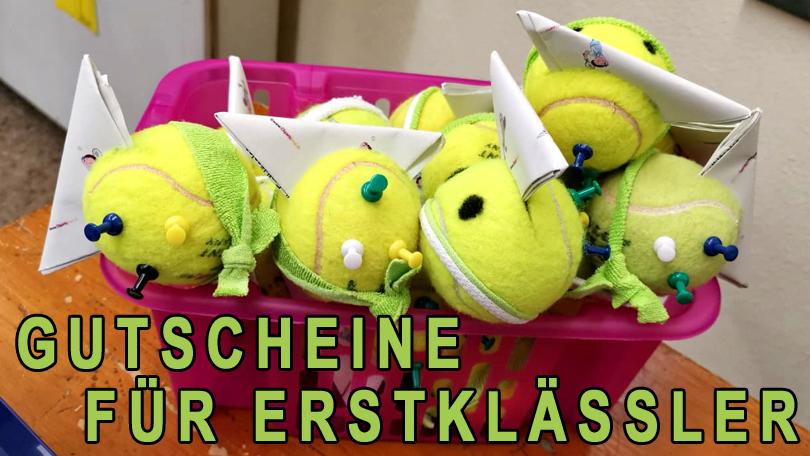 GUTSCHEINE FÜR ERSTKLÄSSLER