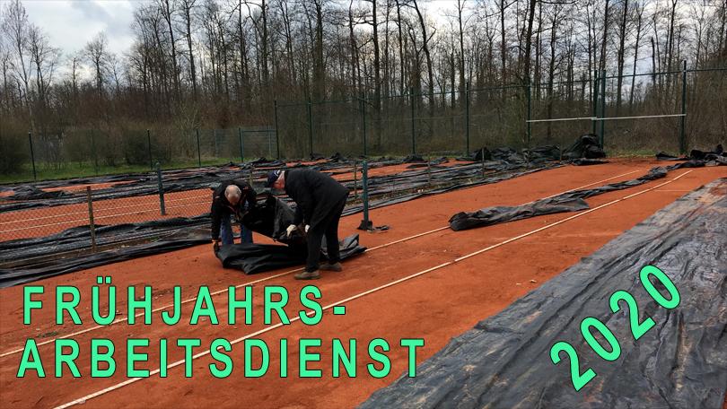 FRÜHJAHRS- ARBEITSDIENST 2020