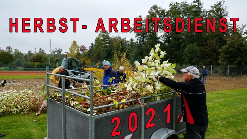 HERBST- ARBEITSDIENST 2021