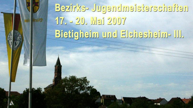 Bez.- Jugendmeisterschaften 2007
