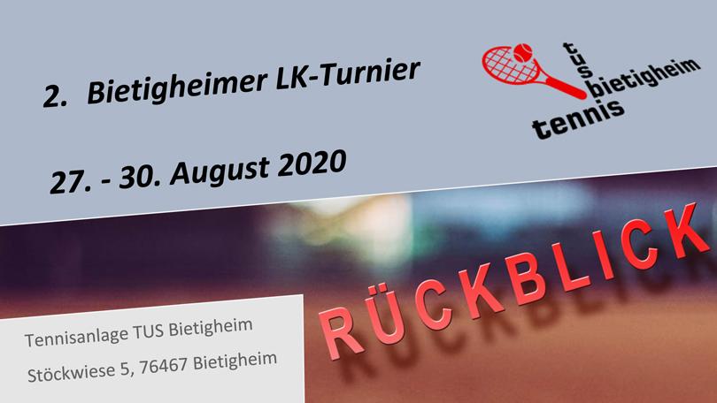 LK-TURNIER 2020 – RÜCKBLICK