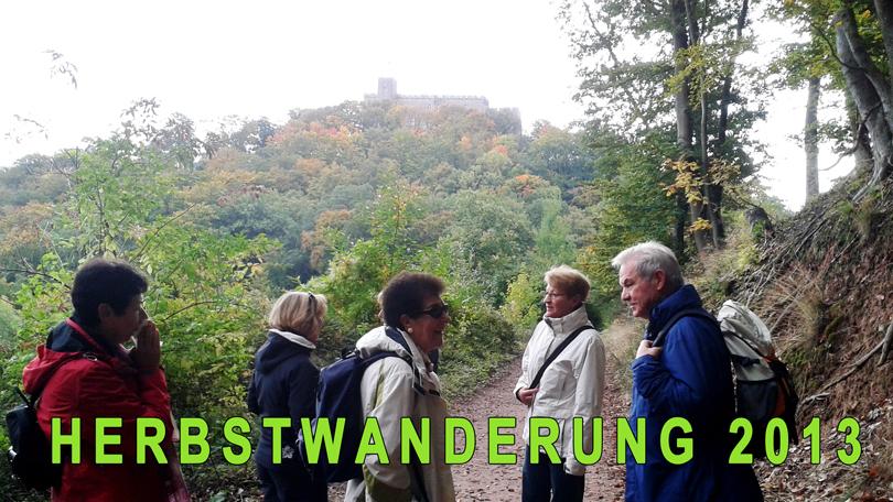Herbstwanderung 2013